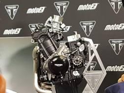Il nuovo motore Triumph per la Moto2