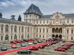 Esposizione di bolidi al Castello del Valentino a Torino
