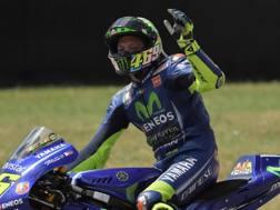 Valentino Rossi, nove titoli iridati. Afp