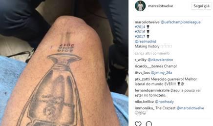 Il video postato da Marcelo su Instagram.