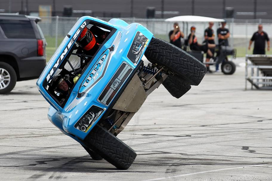 Speed Energy Super Trucks a Fort Worth, Texas, Usa (Afp)