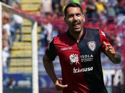 Marco Borriello, 34 anni, 16 gol nell'ultima stagione di A con il Cagliari. Ansa