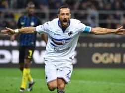 Fabio Quagliarella, 34 anni. Ansa