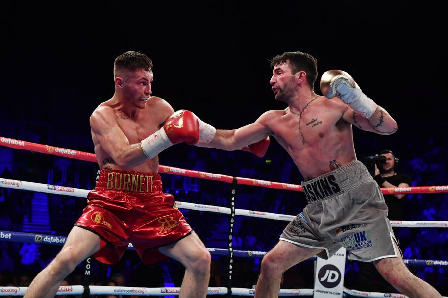 Ryan Burnett a sinistra e Lee Haskins a destra. (Getty Images)
