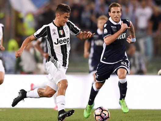 Una fase di gioco dell'ultima finale di Coppa Italia. Lapresse