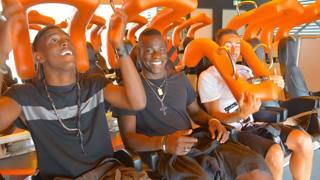 Balotelli a Gardaland: emozioni e adrenalina al Parco