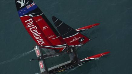 Un'immagine di Team New Zealand. Ap