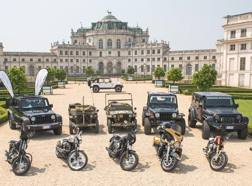 Harley e Jeep insieme: una mostra da favola