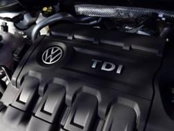 Un motore diesel della Volkswagen. Afp