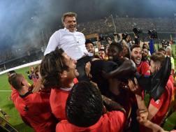 Benevento, la festa per la promozione in A. Getty