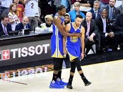 Kevin Durant e Steph Curry.