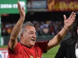 Oreste Vigorito, presidente del Benevento. GETTY