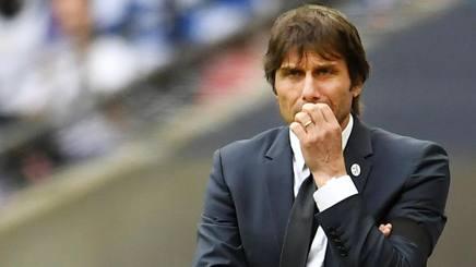 Antonio Conte, 47 anni, campione d'Inghilterra al primo anno con il Chelsea. Epa