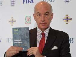 David Elleray, 62 anni, ex arbitro inglese e attuale direttore tecnico dell'Ifab.