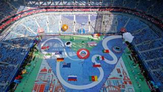 Confederations Cup, la cerimonia d'apertura