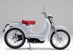Il concept e-Cub, base per lo scooter elettrico Honda