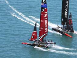 Team New Zealand domina: vince anche la quarta regata