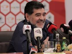 Diego Armando Maradona, 56 anni. AFP
