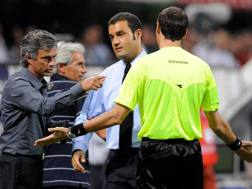Josè Mourinho insieme al suo assistente Andre Butti ai tempi dell'Inter