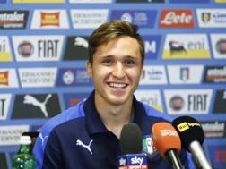 Federico Chiesa, 19 anni, protagonista in Under 21. LaPresse