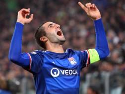 Maxime Gonalons, 28 anni, centrocampista francese del Lione. LaPresse