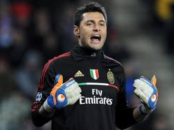 Marco Amelia, 35 anni. Epa