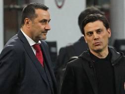 Da sinistra, Massimiliano Mirabelli, 48 anni, e Vincenzo Montella, 43. Getty Images
