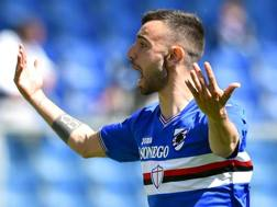 Bruno Miguel Borges Fernandes, 22 anni, centrocampista portoghese della Sampdoria. Ansa