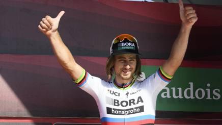 Peter Sagan, 27 anni, campione del mondo 2015 e 2016. Epa
