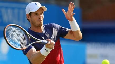 Andy Murray, 30 anni, eliminato al 1° turno del Queen's LAPRESSE