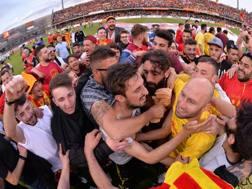 Per la A, il Benevento avrà uno stadio rinnovato. LaPresse