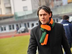 Filippo Inzaghi, allenatore del Venezia. LaPresse.