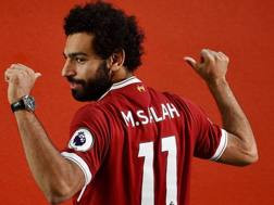 Mohamed Salah Ghaly, 25 anni, attaccante egiziano del Liverpool. Twitter