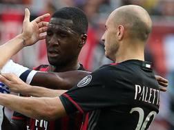 Zapata e Paletta, compagni di squadra nel Milan: il Torino li valuta entrambi, per sistemare la difesa, ma ne prenderà uno solo. Ansa