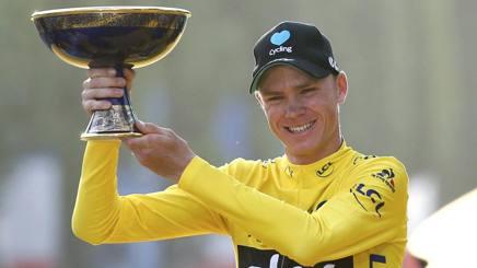 Chris Froome, 32 anni, tre volte vincitore del Tour de France. Reuters