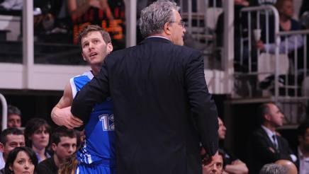 Meo Sacchetti e Travis Diener alla Dinamo Sassari. Ciam/Cast