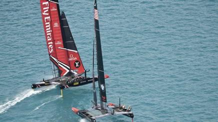 Team New Zealand davanti a Oracle