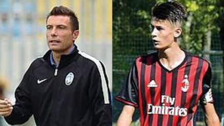 Massimo Brambilla, 44 anni, e Alessio, 16. GETTY