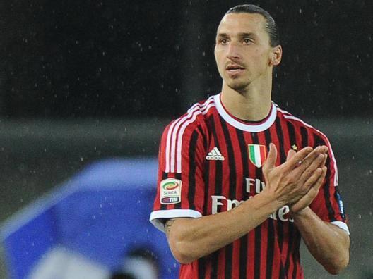 Zlatan Ibrahimovic, 35 anni, campione d'Italia con il Milan nel 2011. Ansa