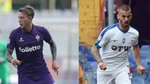 Federico Bernardeschi, 23 anni, e Leonardo Spinazzola, 24 anni. Gasport