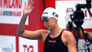Federica Pellegrini, 28 anni, in finale nei 200 sl. Ansa