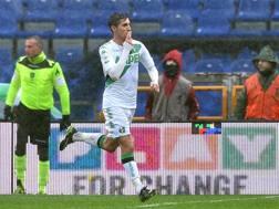 Lorenzo Pellegrini, 20, del Sassuolo. Ansa