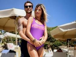 Claudio Marchisio , 31 anni, insieme alla moglie. Instagram