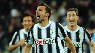 Alex Del Piero, 42 anni, alla Juve fino al 2012. Afp