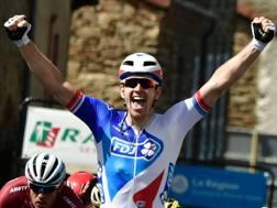 Arnaud Demare campione francese. Afp