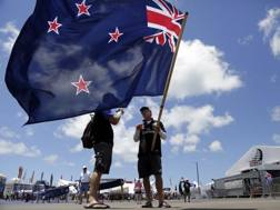 Bandiere neozelandesi ovunque a Bermuda