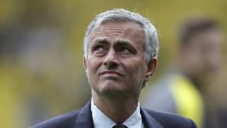 José Mourinho, allenatore dello United. Ap