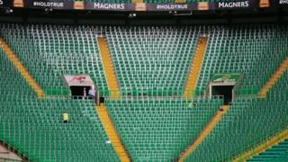 Il settore in piedi dei Celtic