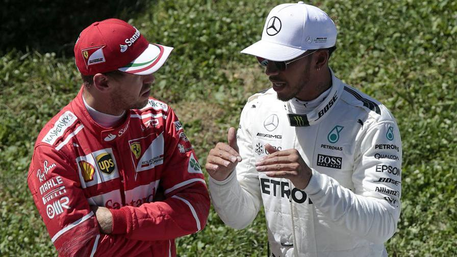 Hamilton: 'Seb, vergogna' Vettel: 'Parleremo. Ora no'