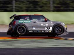 La Mini in azione a Monza